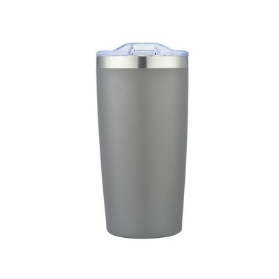 20 Oz. Frost Grey Double Wall Stainless Steel Tumbler
