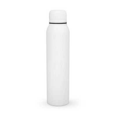56432def920 H2go 17oz. White Water Bottle - Vacuum Insulated Stainless Steel Bottle